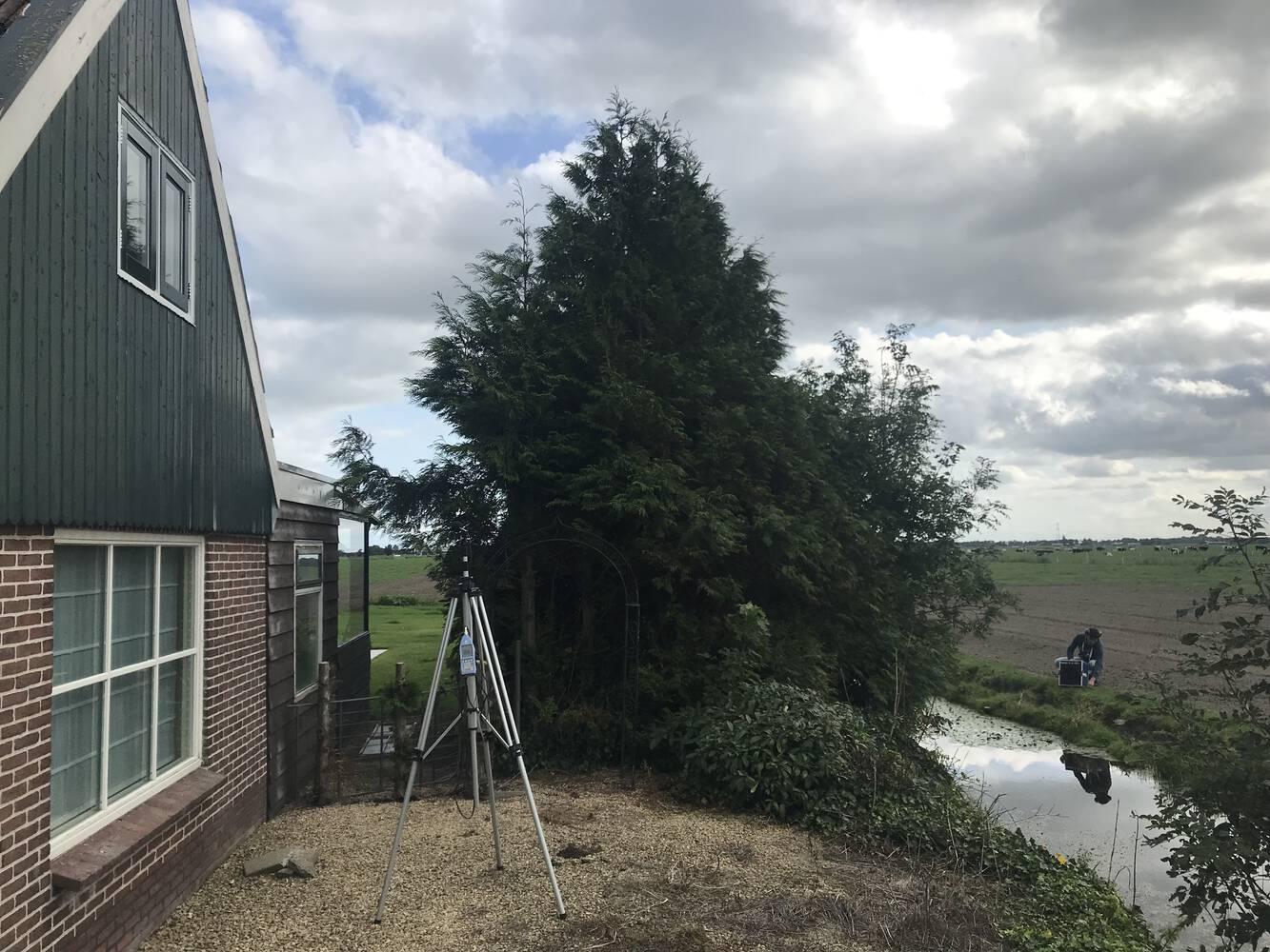 Controlemetingen geluidwering gevel woningen N23 Noord-Holland