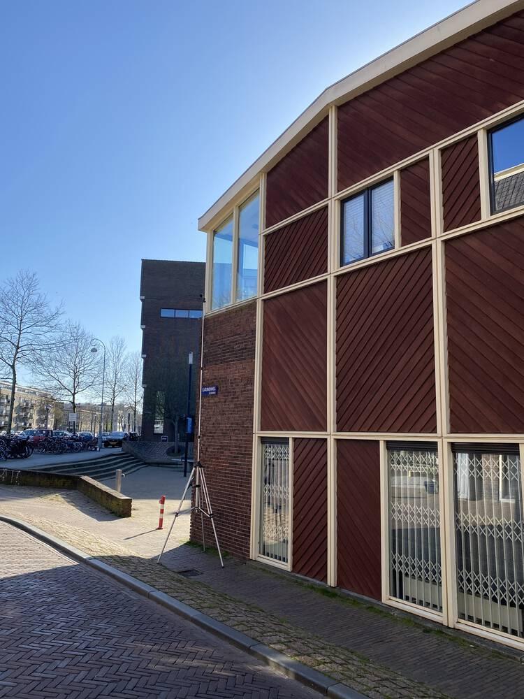 Geluidwering gevel onderzoek bovenwoning Amsterdam-centrum