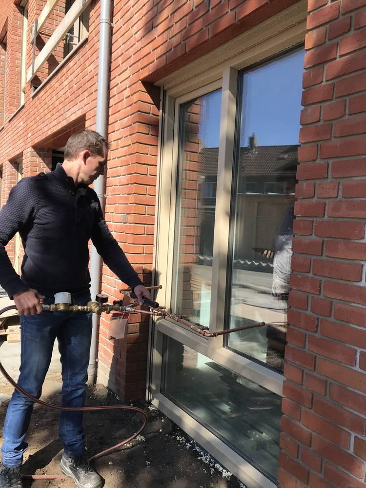 Beproeving waterdichtheid gevels appartementen Breda